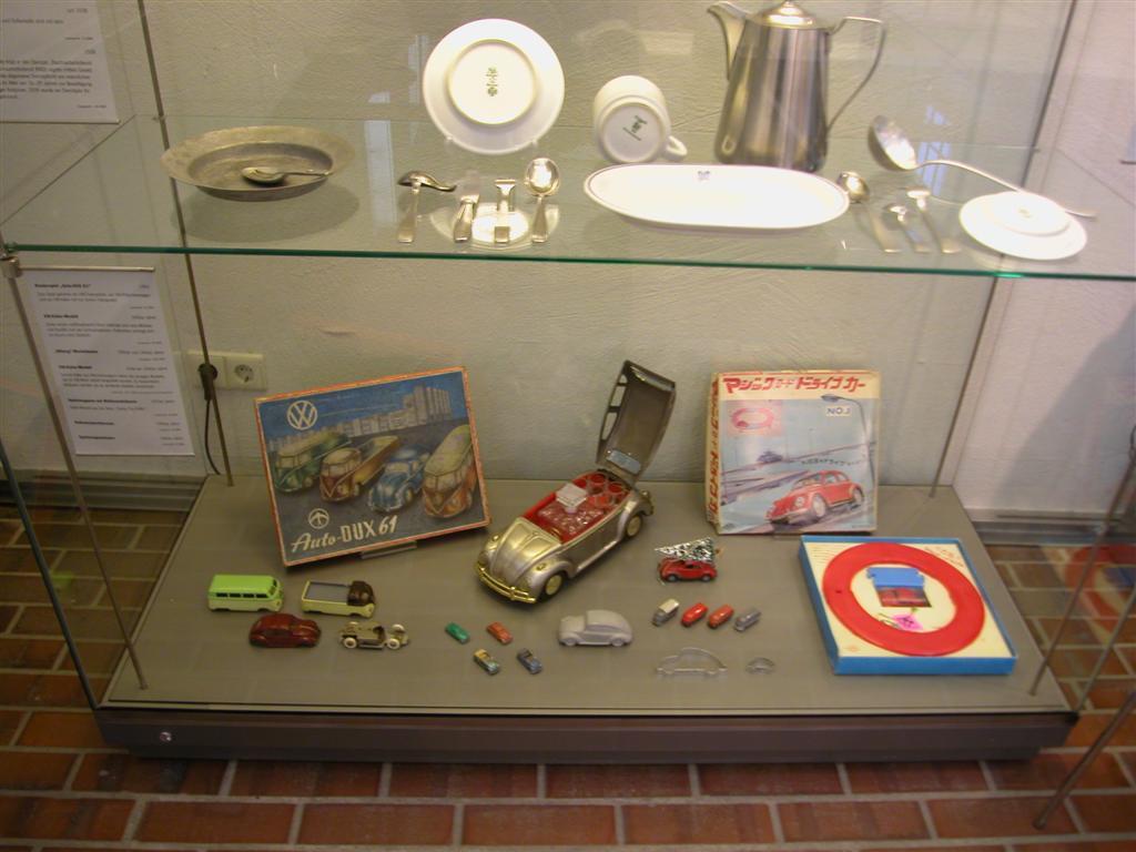 Wolfsburg castle display case