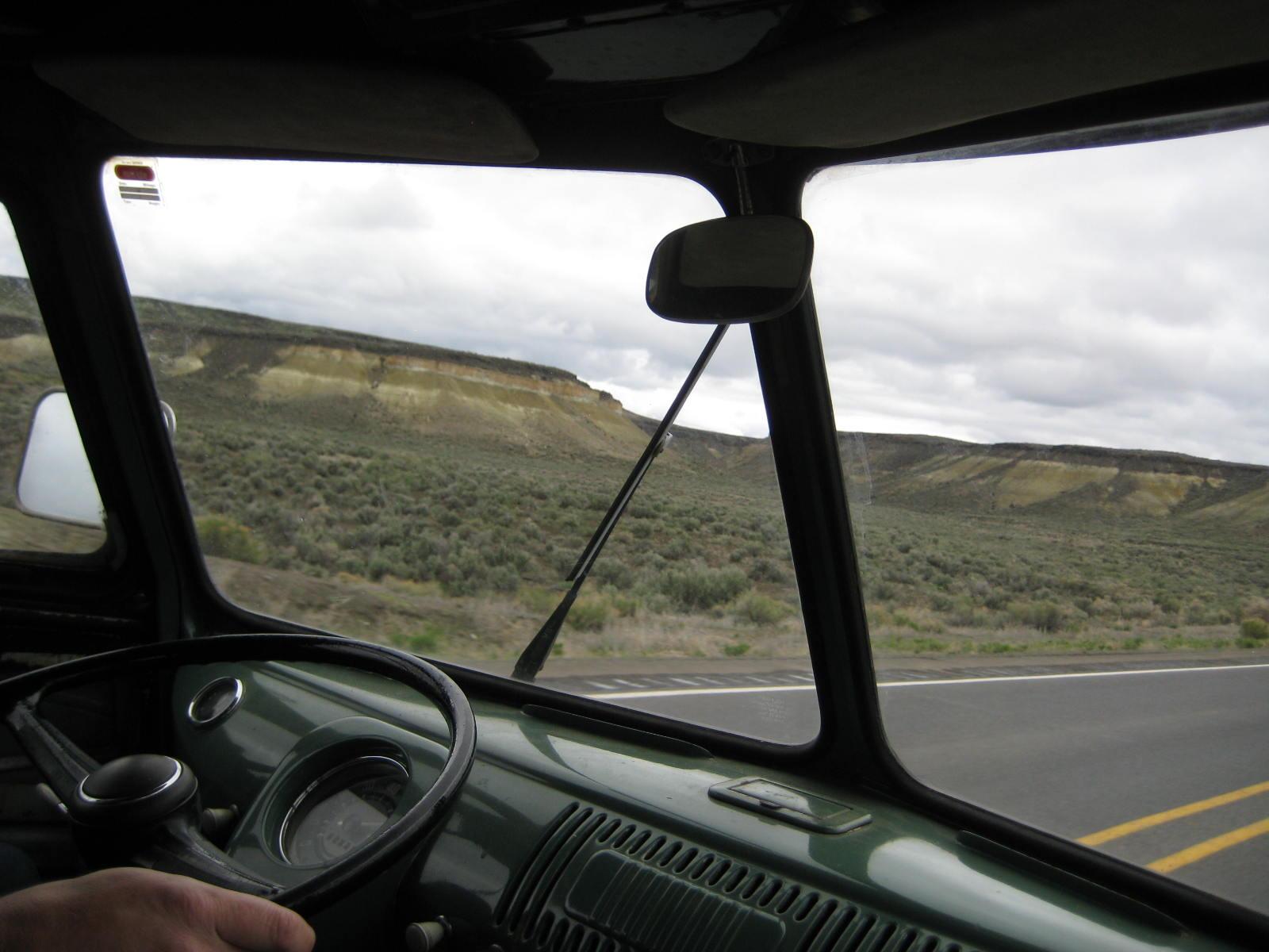 Eastern Oregon sagebrush & hills with erosion