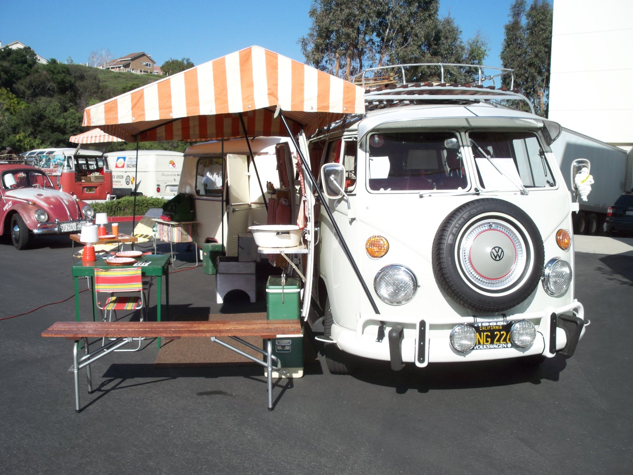 My 1965 EZ Camper with 1964 Eriba Puck