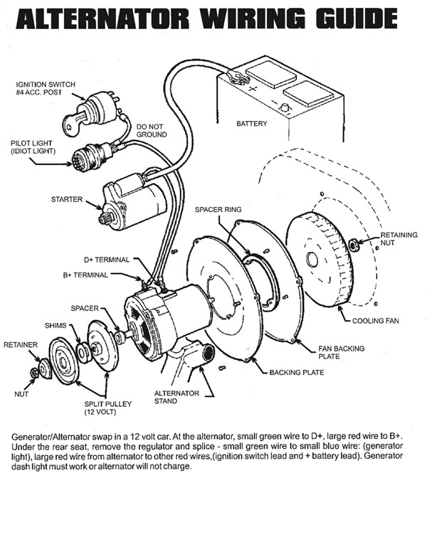 Vw Alternator Wiring Diagram Vw Home Wiring Diagrams – Vw Alternator Wiring Diagram