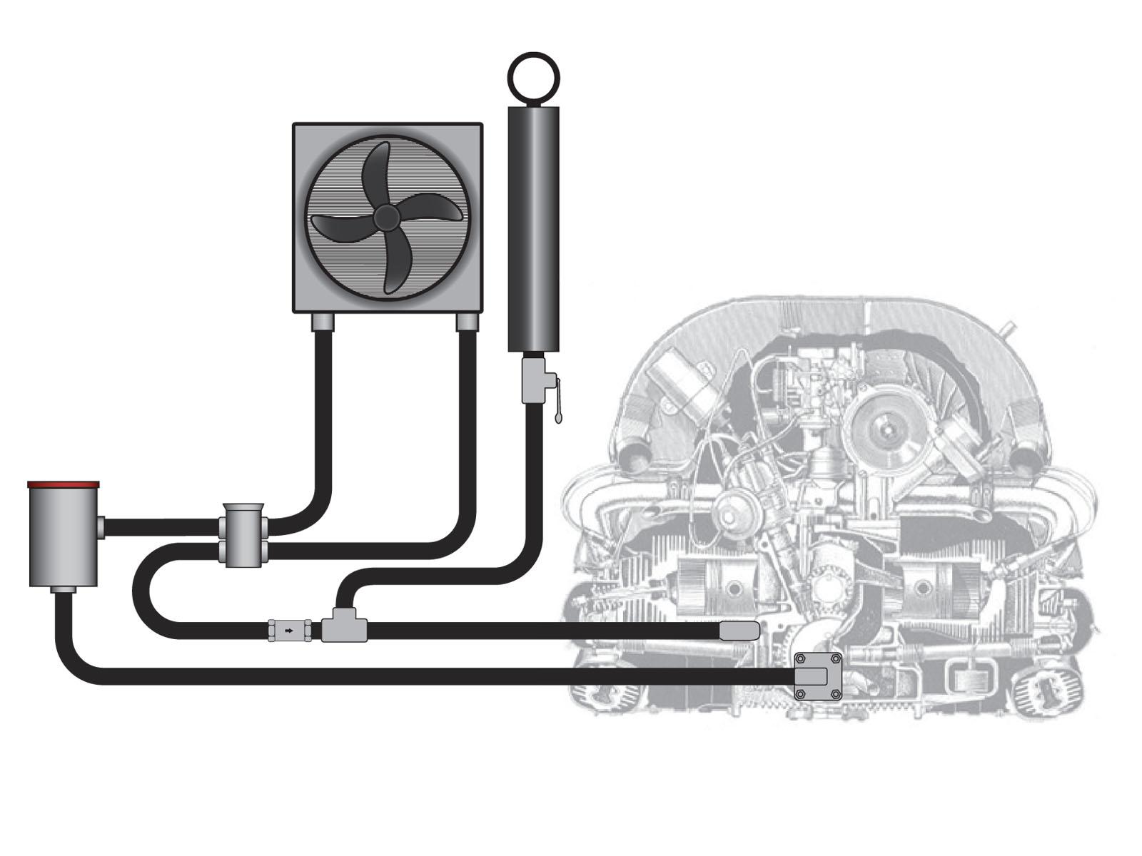 Wiring Diagram Database  Vw Full Flow Oil System Diagram