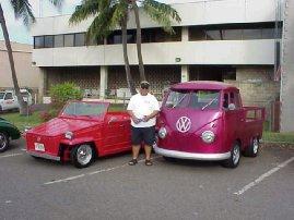 David's Thing and Braddah Bu's Cab