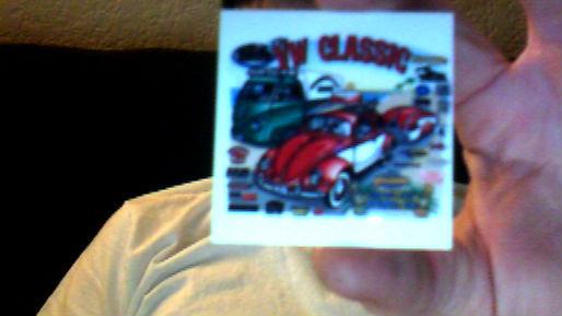 dash plaque 2007 classic