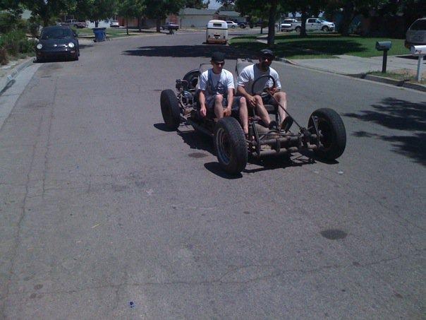 Pimp and Fresno James Pan ride