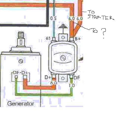 vw beetle generator wiring diagram thesamba.com :: beetle - late model/super - 1968-up - view ...