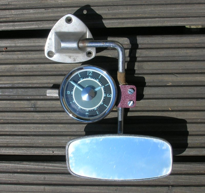 2 VW Mirror Clocks - Isgus and Kienzle