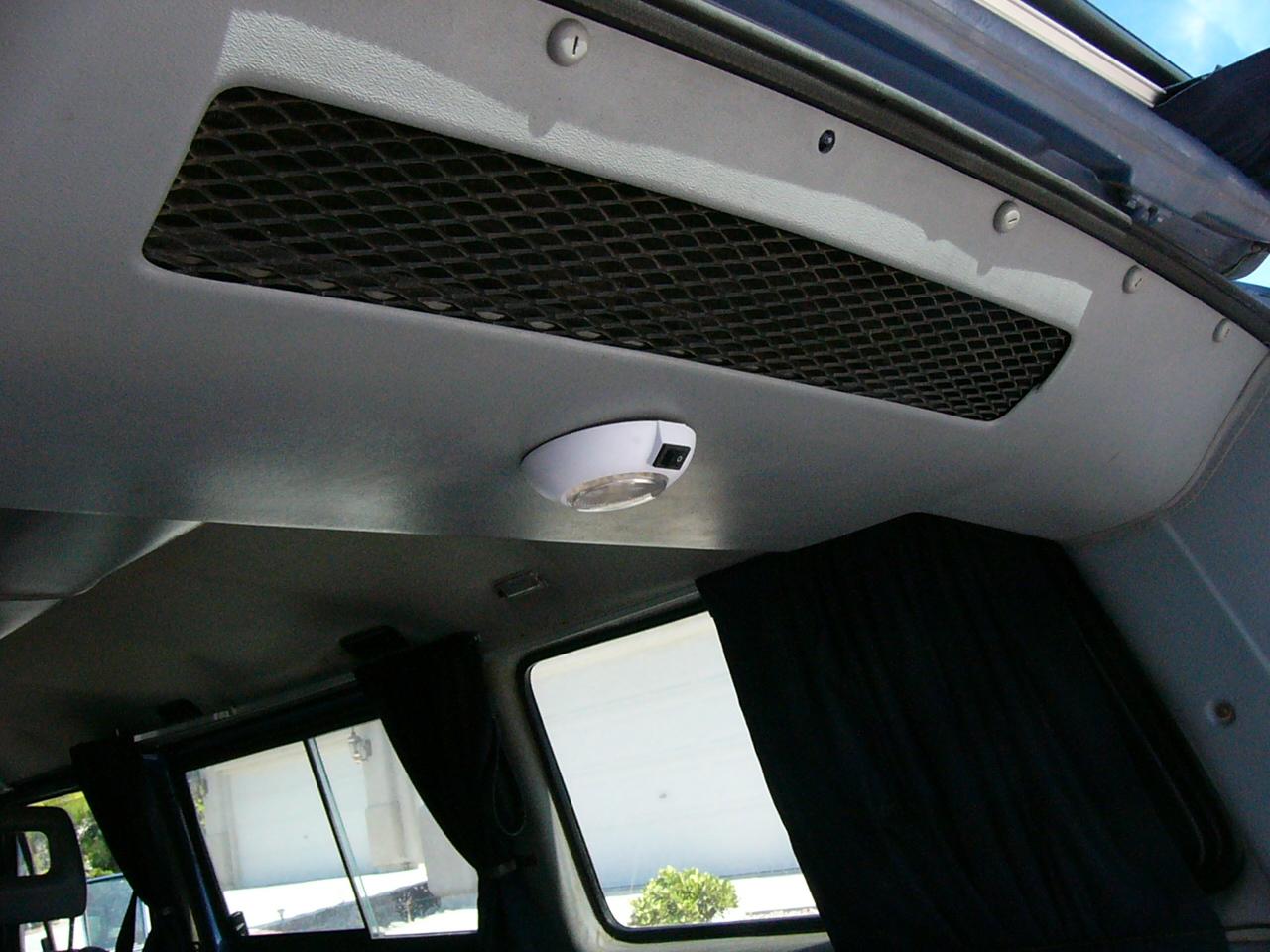Rear inside LED light
