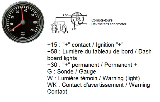 Wiring Diagram For Vdo Tachometer from www.thesamba.com