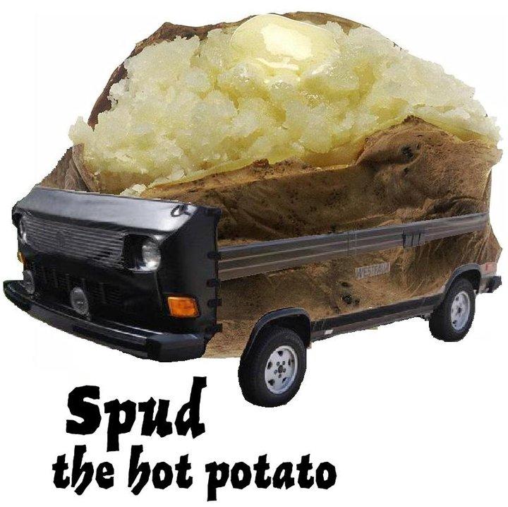 Spudly the Hot Potato