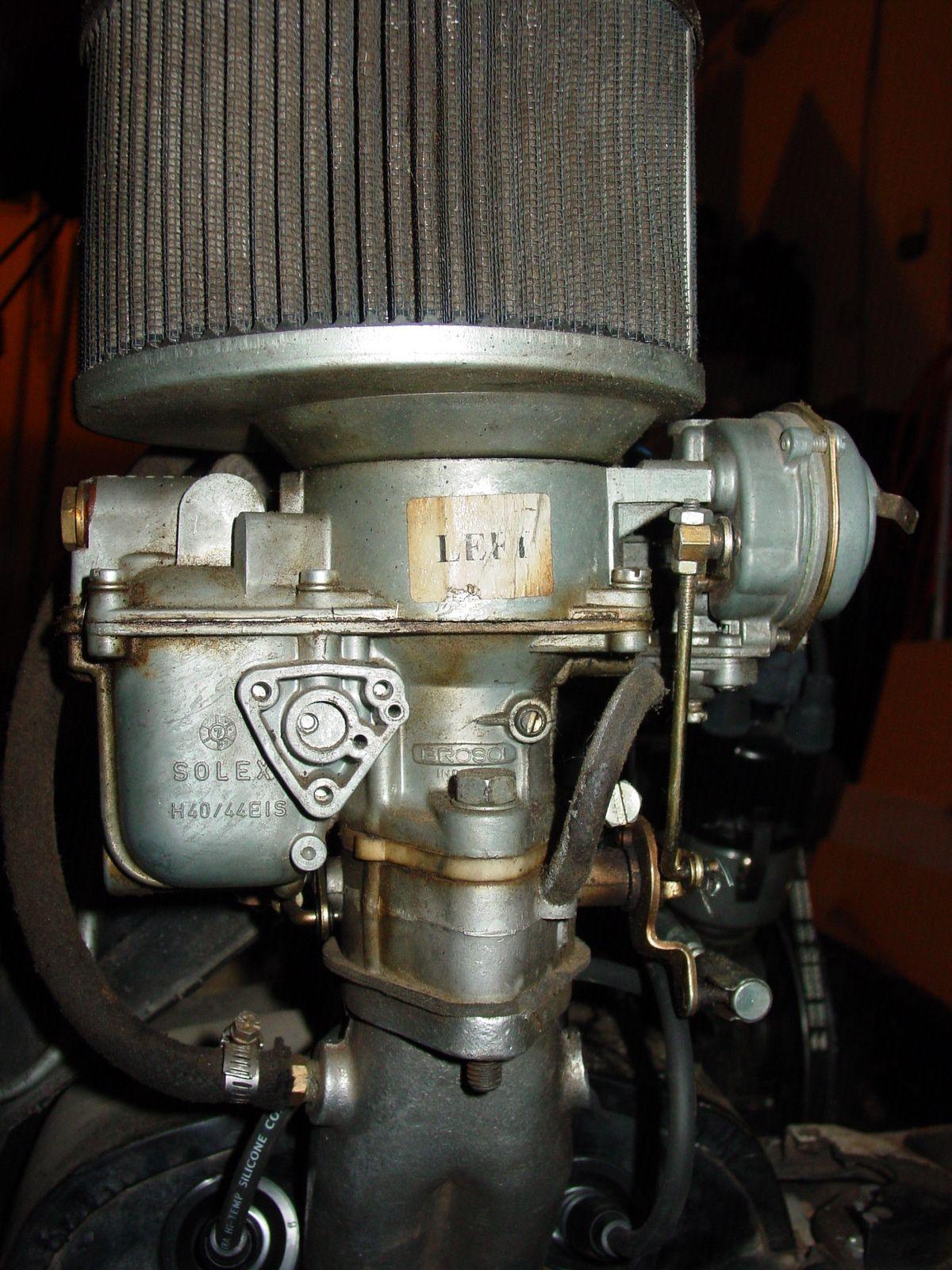 solex h40 44 eis dual carbs