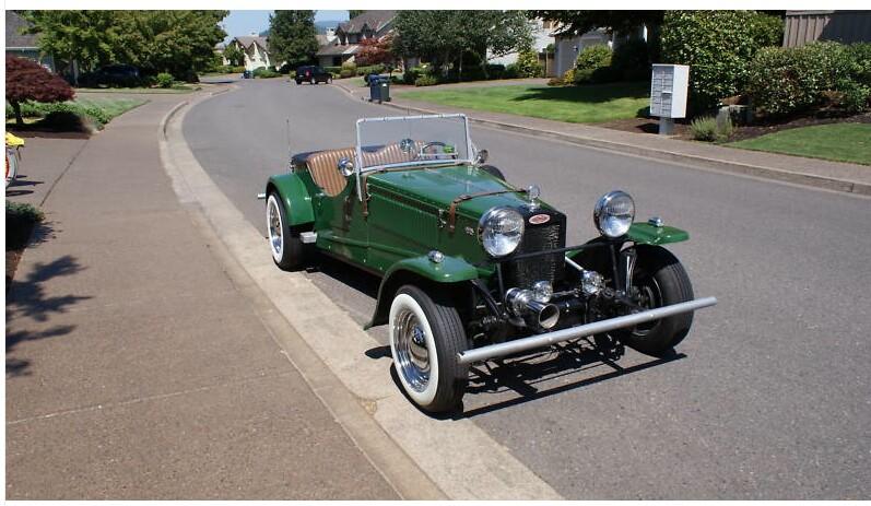 1934 Fraser Nash Kit- Back on the Road