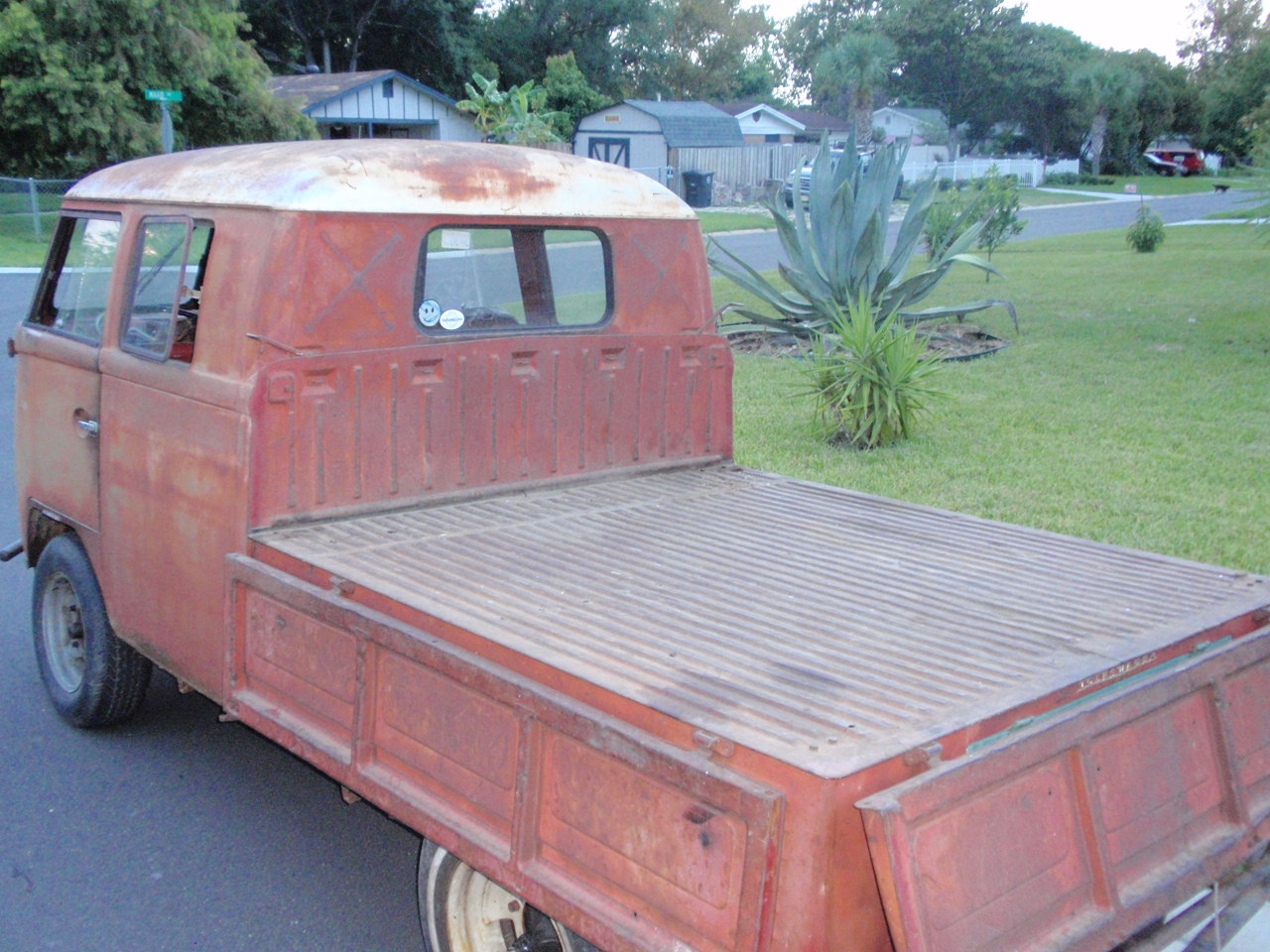 1963 ruby red double cab
