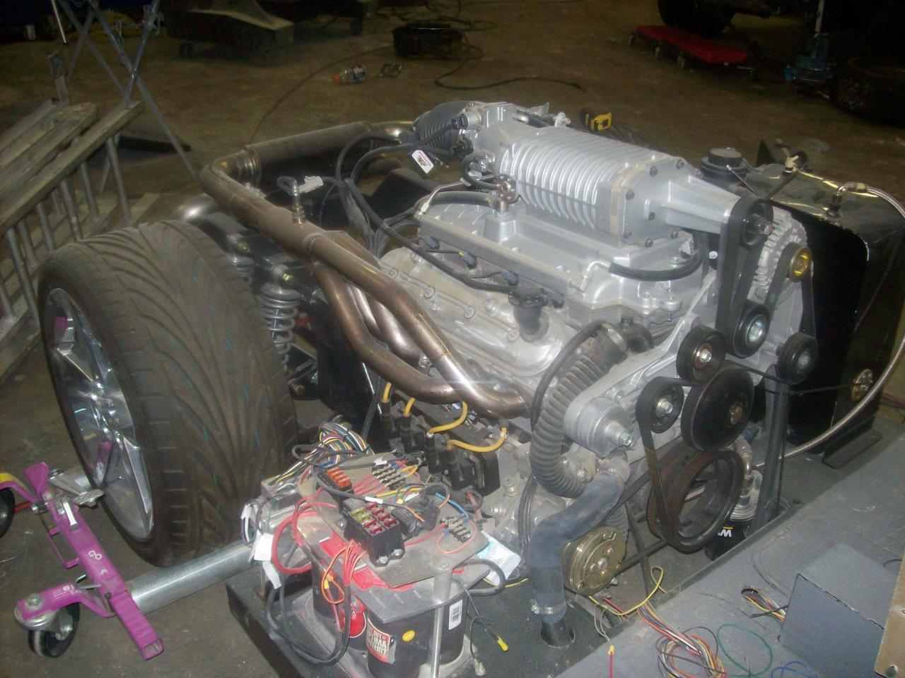 TheSamba com :: Gallery - Supergharged V8 mid engine Ghia