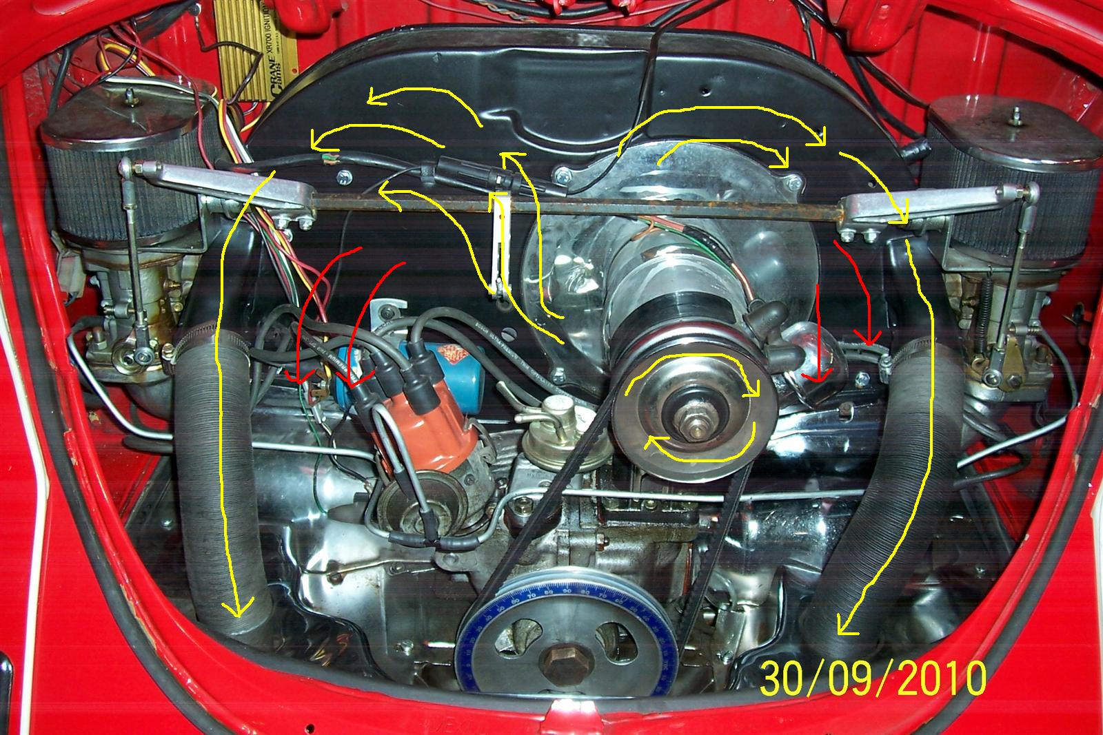 1973 Vw Beetle Engine Diagram Electrical Wiring House 1967 Thesamba Com Late Model Super 1968 Up View Topic Rh 2000