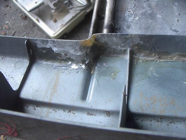 More bumper repair