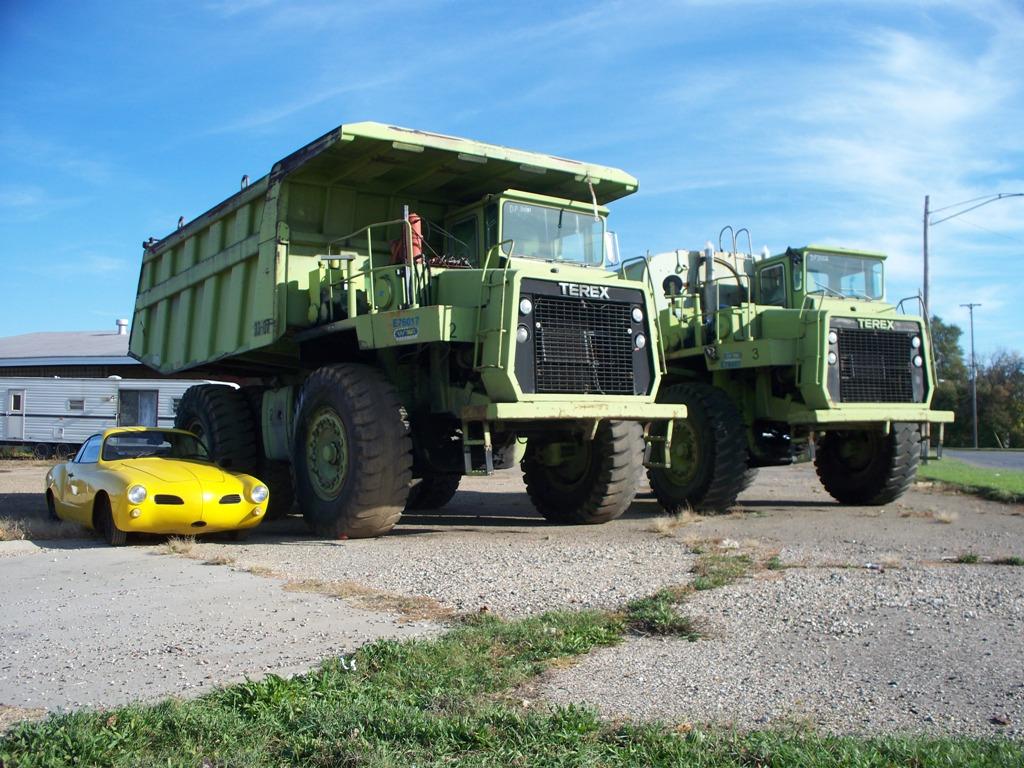 Ghia vs Dump Truck