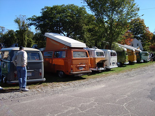 lots of beautiful vw's