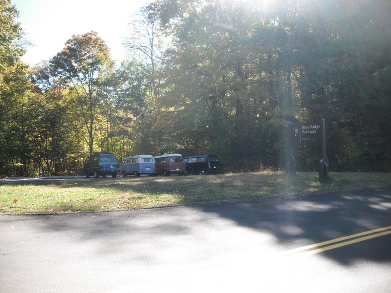 2010 Oct Blue Ridge Pkwy camping