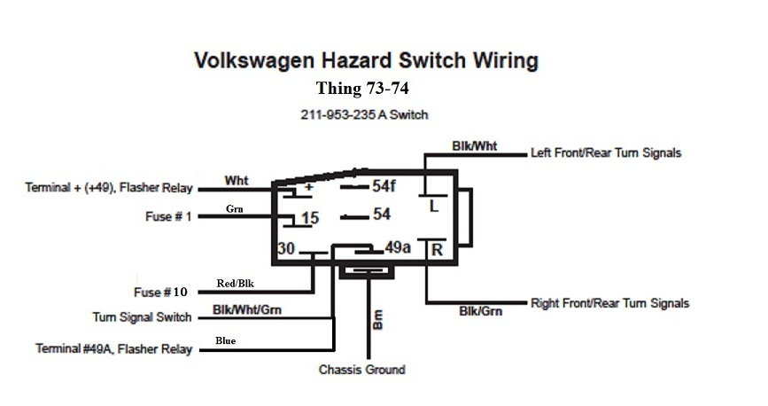 1969 camaro emergency flasher wiring diagram electrical work thesamba com thing type 181 view topic emergency hazard rh thesamba com turn signal wiring diagram alternating relay wiring diagram cheapraybanclubmaster Gallery