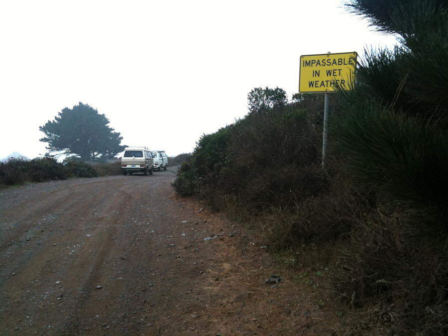 Lost Burros Road, Big Sur California