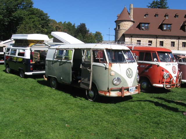 My bus with the Coram Rug Works Van