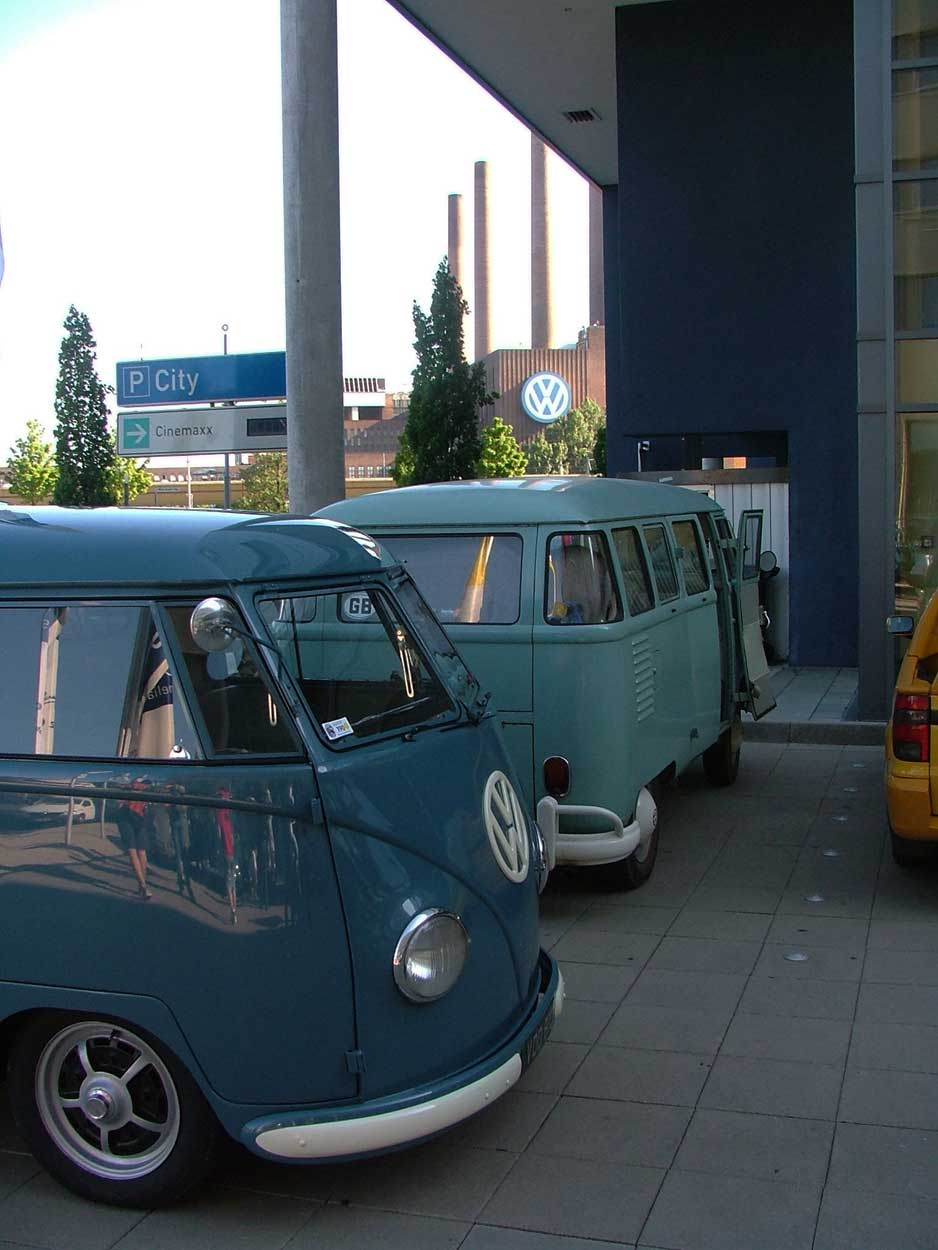 Our 15 window Kombi at Wolfsburg