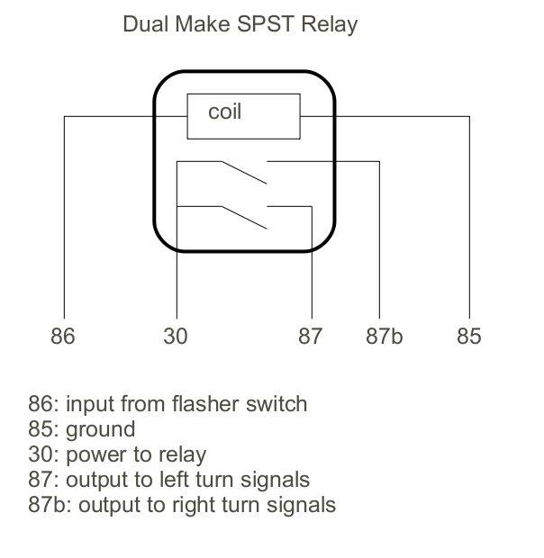 Thesamba gallery dual make spst relay diagram dual make spst relay diagram ccuart Gallery