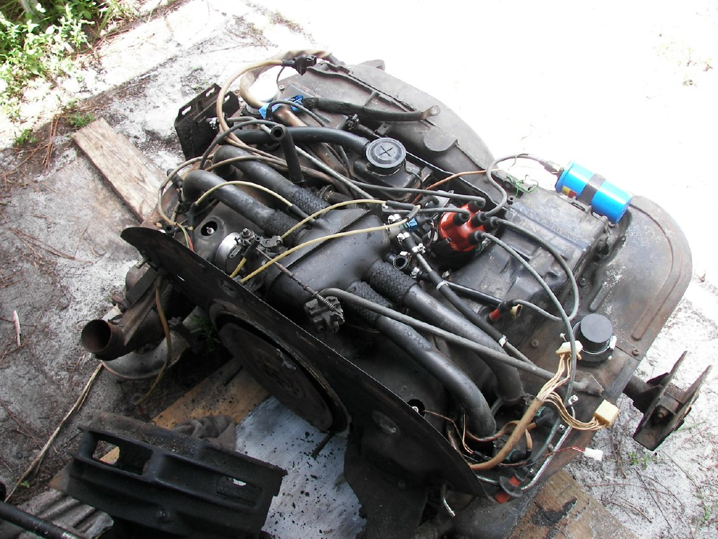 Engine removal 09-05-09