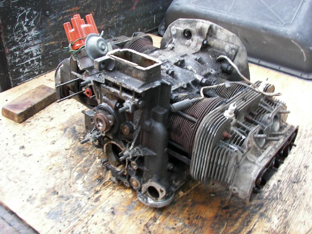 Chugs' engine teardown