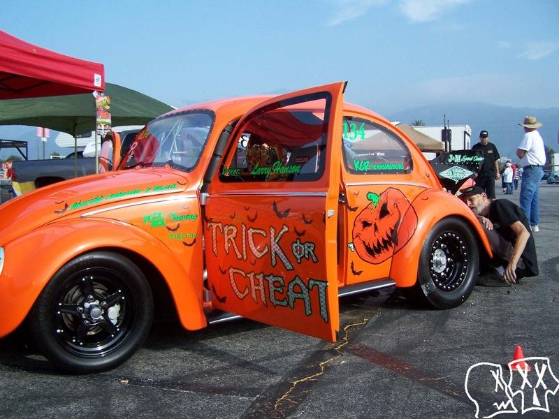 Hot VW Drag Days at Irwindale Speedway Halloween 2010