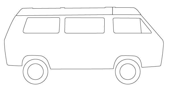 simple van