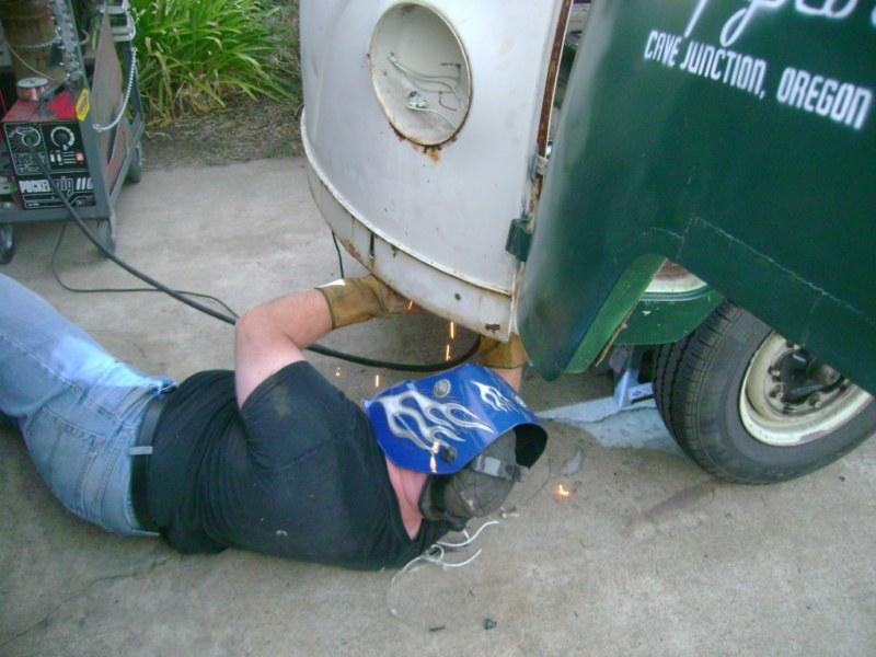 Camper Gets a Nose Job