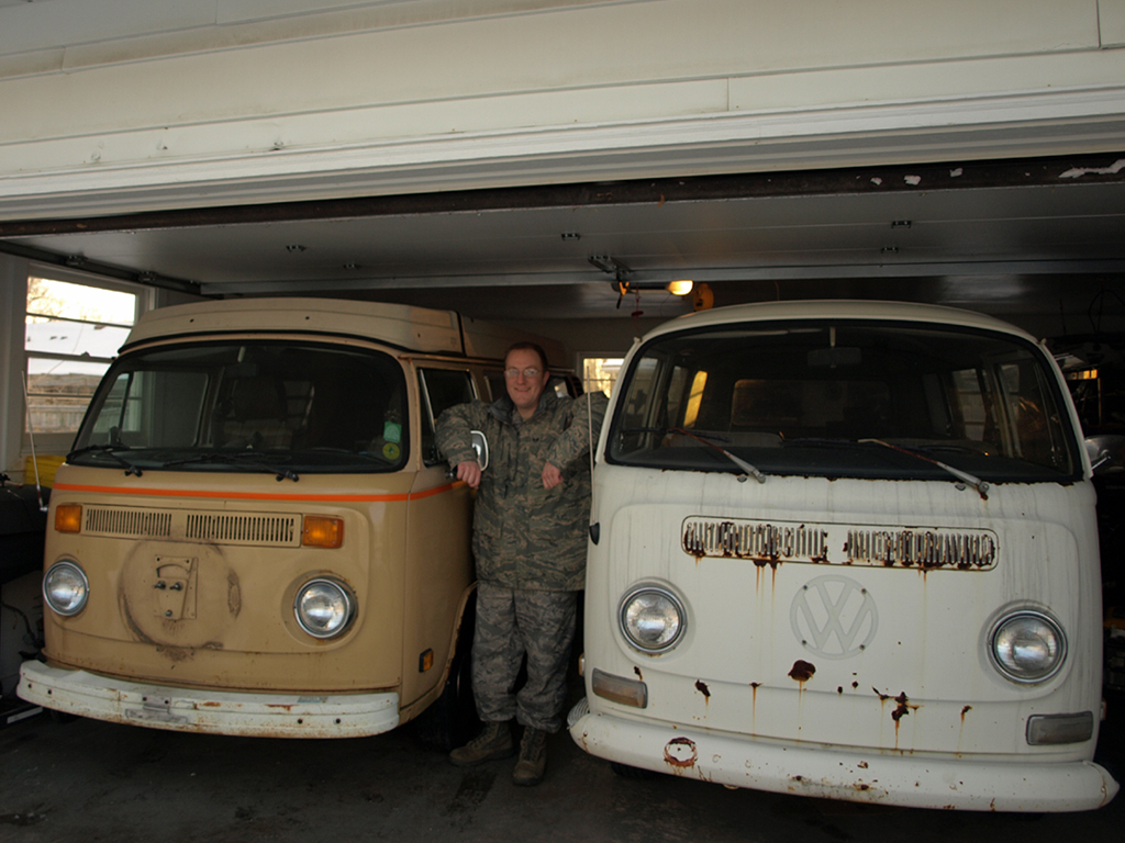 71 Kombi and 79 Westfalia