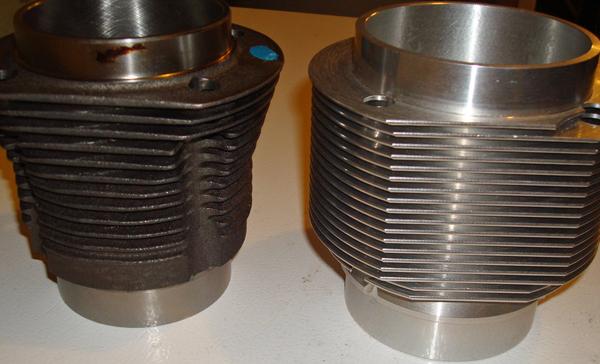 Nickies vs stock 36HP cylinders
