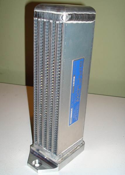 Aluminum oil cooler from Airflow Systems