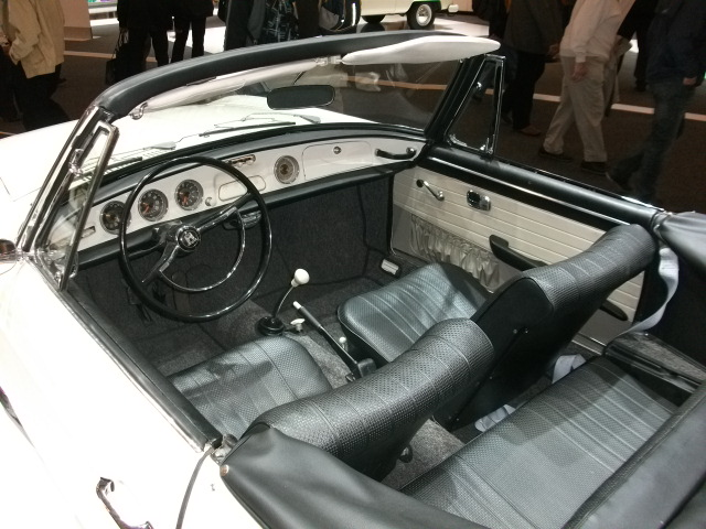 1962 Type 34 convertible prototype 2011 at Techno Classica/Essen