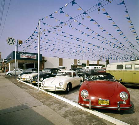 TheSambacom Gallery VW Dealership - Vintage porsche dealer