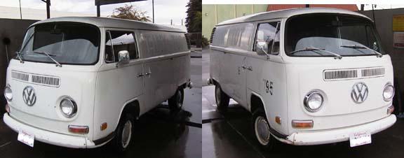 1972 Double Sliding Door Panel Van