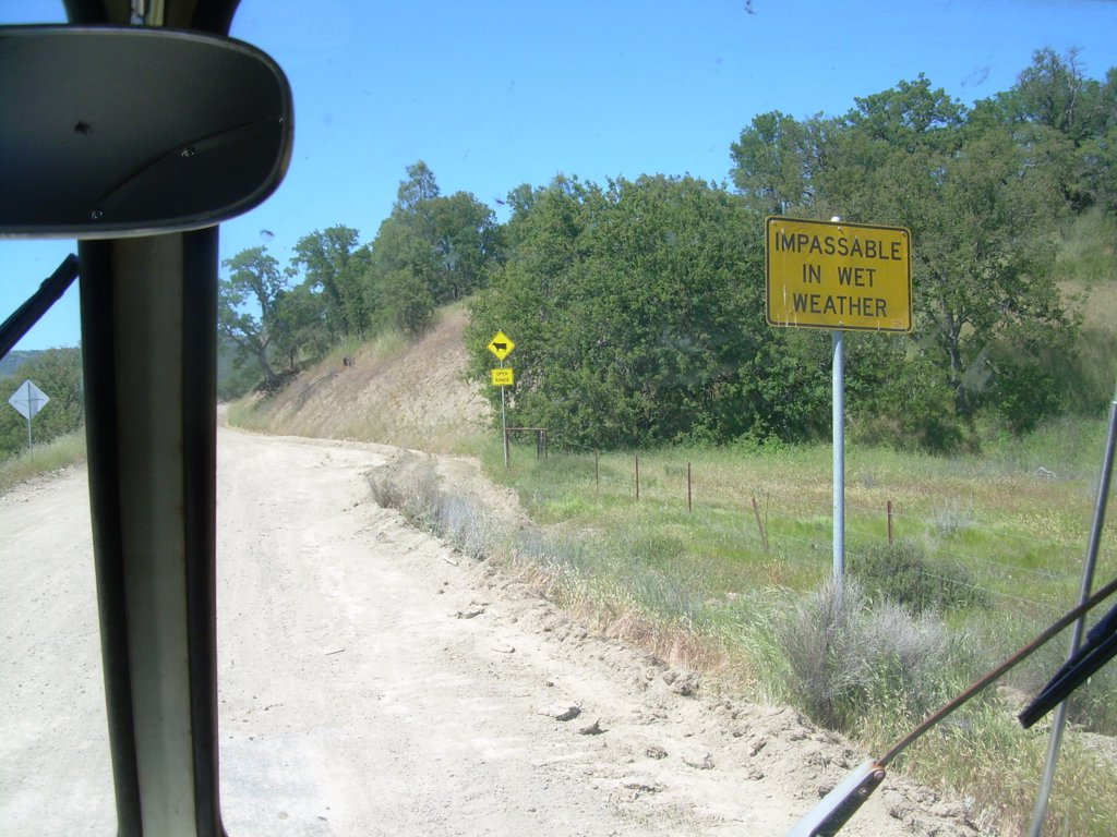 Road Trip-Paso Robles to Madera, CA