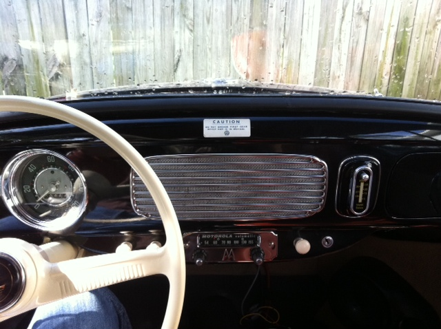 my 57. New 6 volt stereo