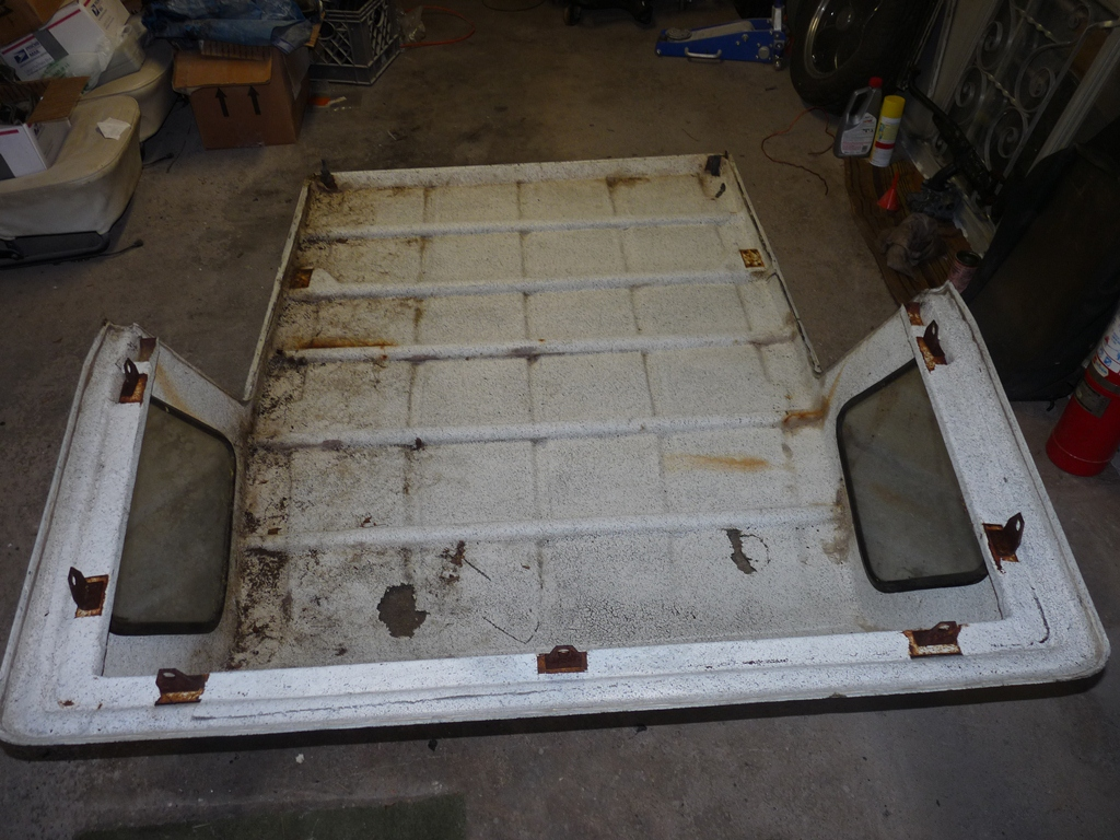 VW Thing factory hardtop