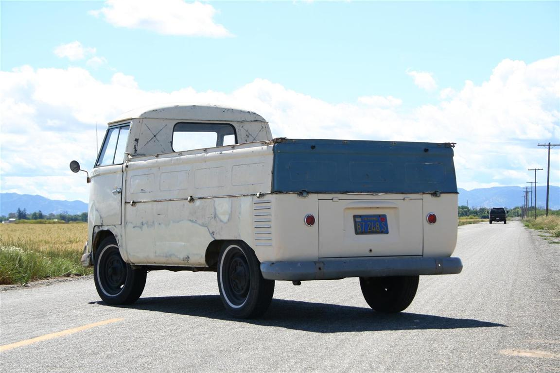 58 Single Cab Rear Gate