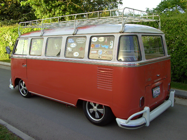 soon to be featured in camper and bus, our demo bus