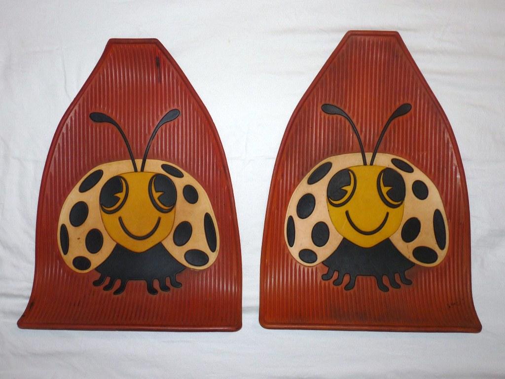 Red Ladybug Floormats