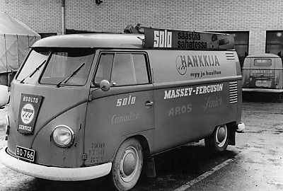 Hankkija panel vans from 60s