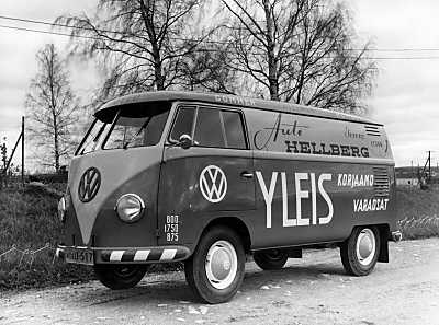 Hankkija panel vans from 60s