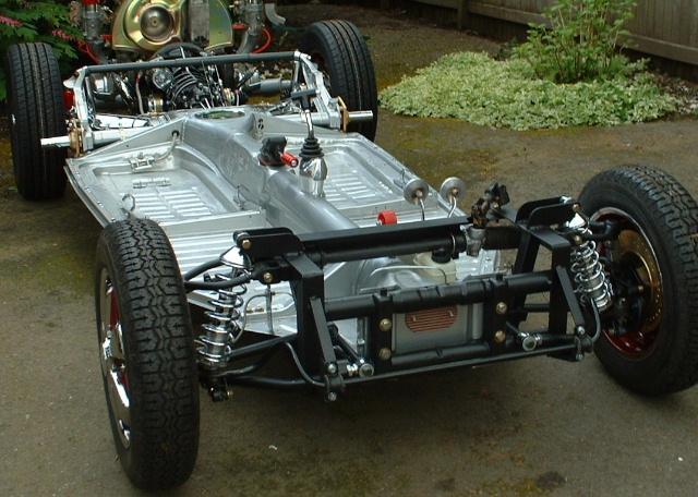 Vw super beetle front suspension conversion