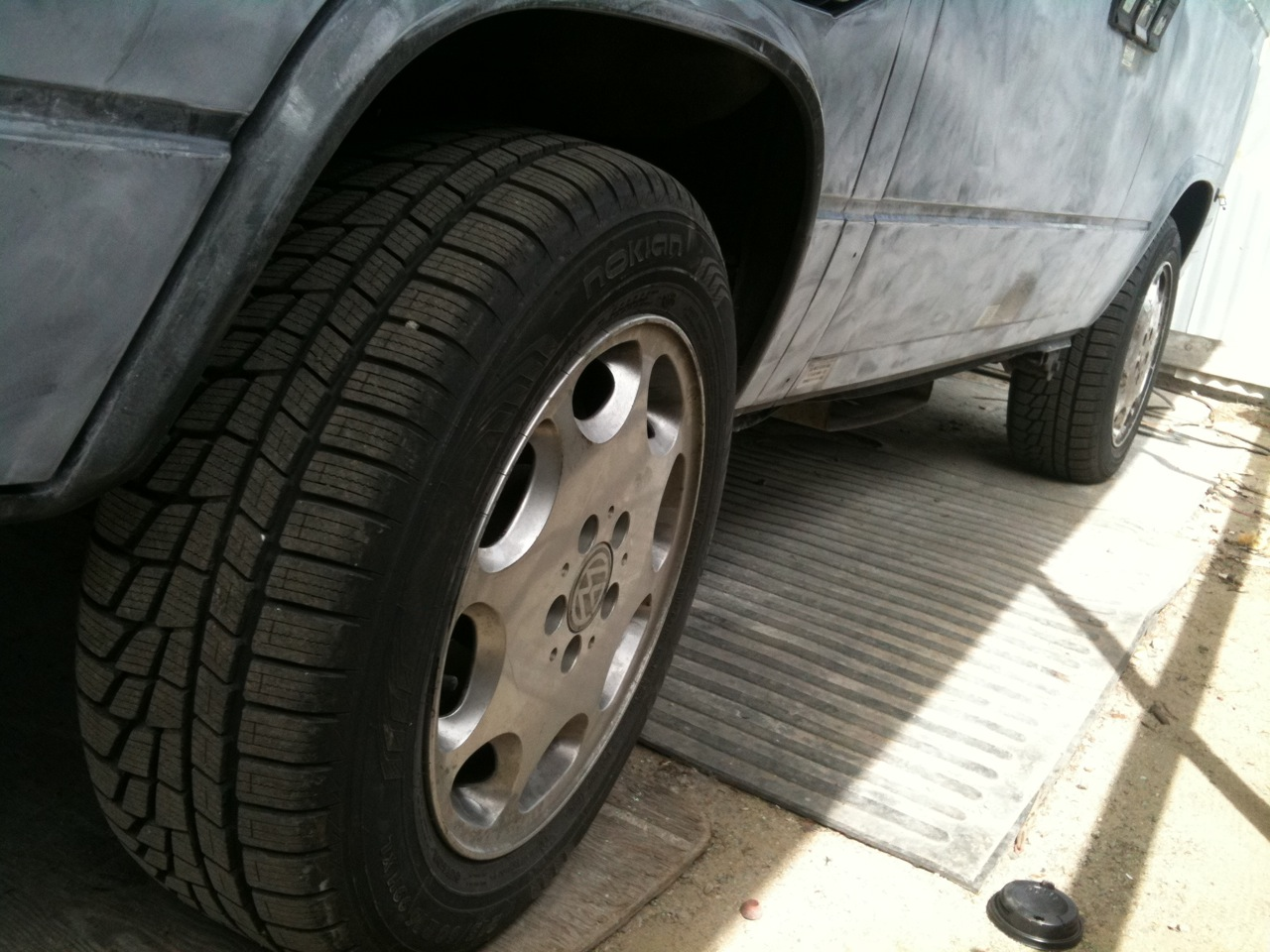 """16"""" GoWesty Alloys with Nokian WRG2s"""