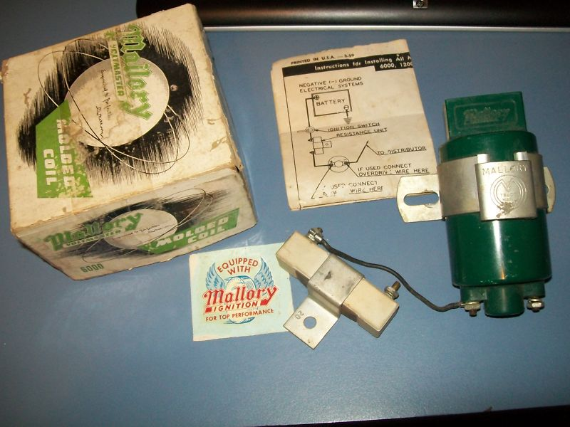 TheSamba com :: Gallery - Mallory 6 volt coil vintage speed