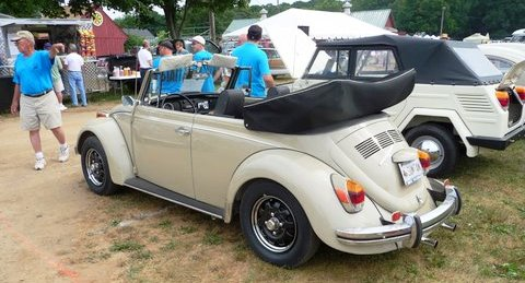 My '70 Bug at the Time Machines 2011 antique auto show